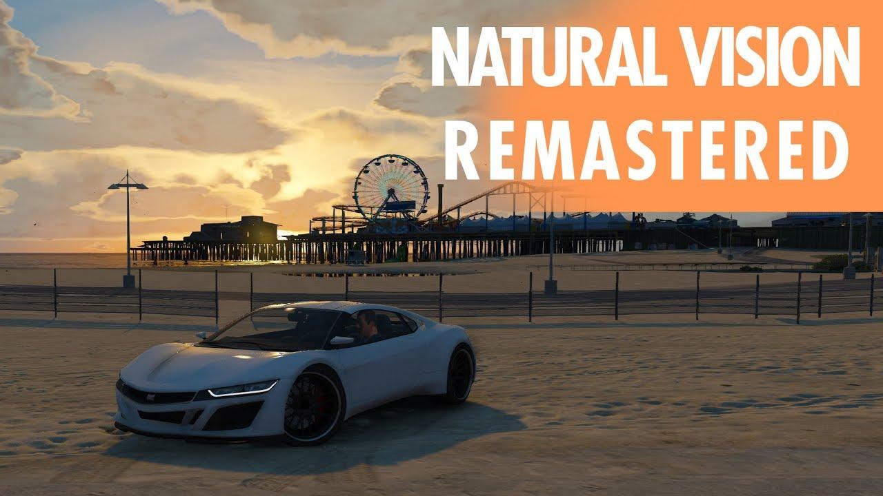 Instalação do mod gráfico Natural Vision Remastered - GTA V