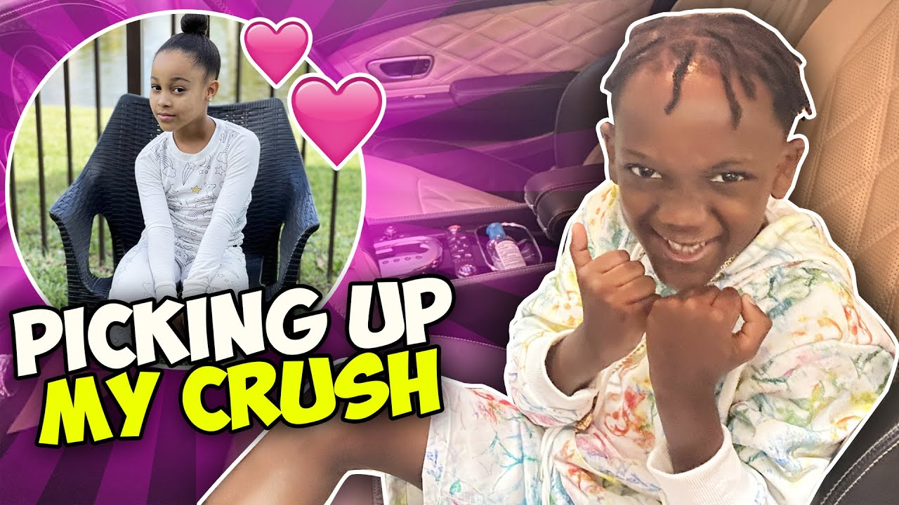 Download Picking Up MY CRUSH In My Dad's BENTLEY
