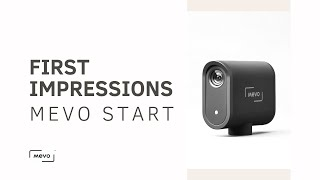 First Impressions of Mevo Start