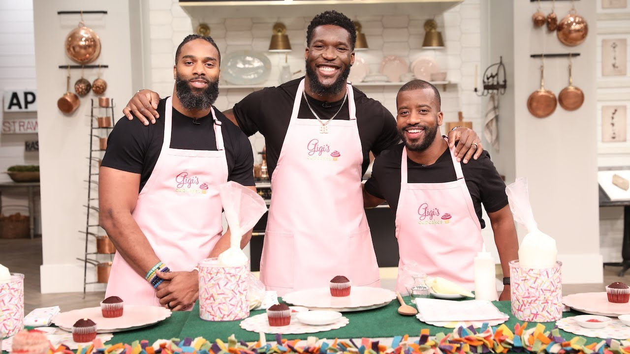 From Football to Frosting: Why These NFL Players Opened a Cupcake