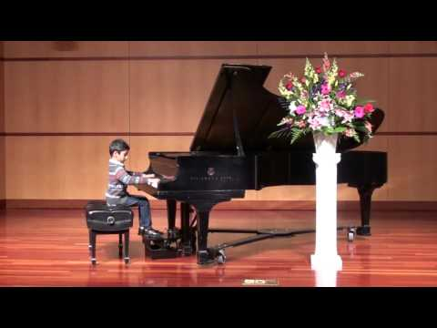 2015 Opus 1 Music Studio Honors Recital - Vishwak Yerrapragada, Piano