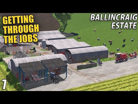 GETTING THROUGH THE JOBS   Ballincraig Estate - Episode 7