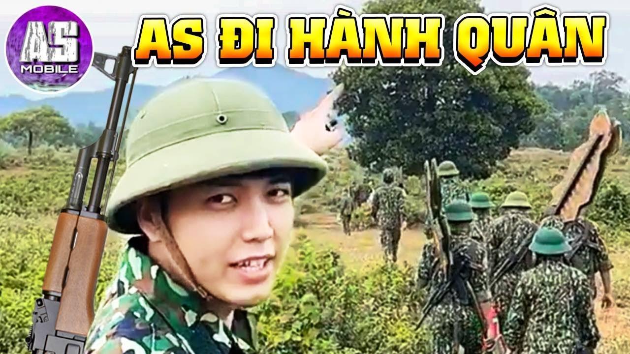 Đi Hành Quân Cùng AS Mobile !!! | AS Mobile Vlog