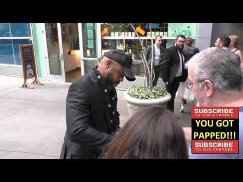 Rockmond Dunbar arrives to ArcLight Theatre in Hollywood