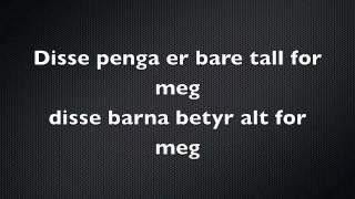 Karpe Diem - Toyota'n til Magdi lyrics