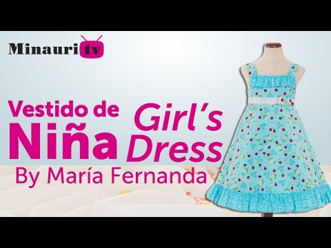 Girl Dress - Vestido Niña (MR13) - Vestito Bambina - Robe Fille - Mädchen-Kleid