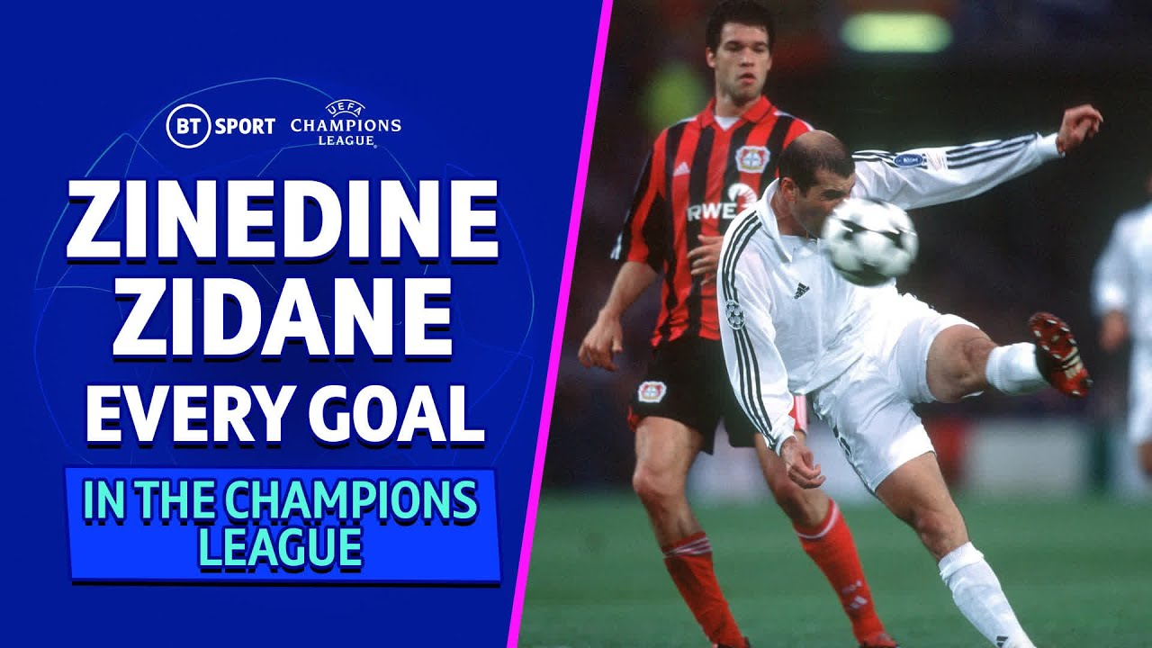 EVERY Zinedine Zidane Champions League goal 🎯 | A true great of the game!