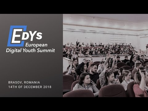 European Digital Youth Summit 2018 | www.EDYS.eu