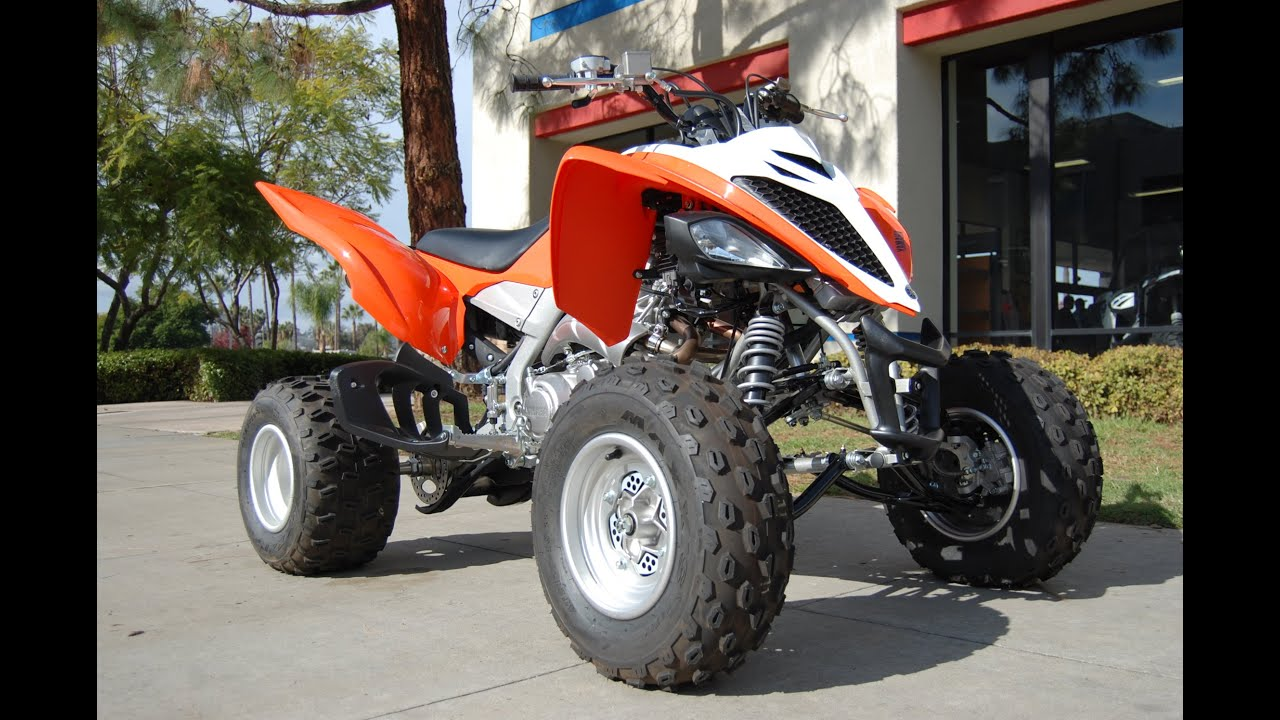 2014 yamaha raptor 700 blaze orange youtube for 2014 yamaha atv