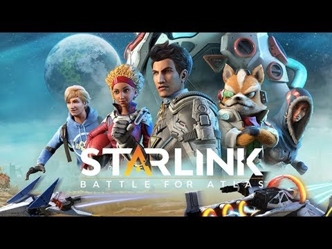 Starlink Battle for Atlas Nintendo Switch Gameplay #1 - STARFOX BABY!
