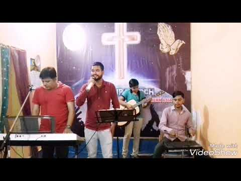"""Christian Solo Song Tera Laho Bada Sing By Bharat """"Indian Gospel Singers"""""""
