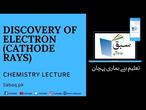 Discovery of Electron(Cathode rays)