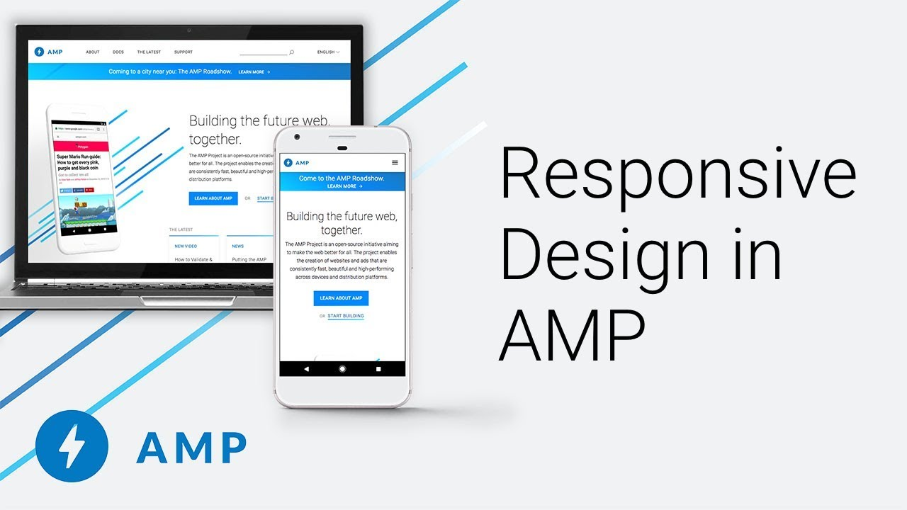 Create responsive AMP pages - amp dev