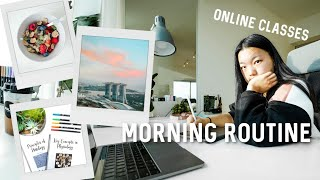 My 6:30AM Morning Routine! // Online School + Productivity