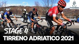 Tirreno–Adriatico 2021 - Stage 4 Highlights | Cycling | Eurosport