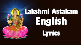 Mahalakshmi Ashtakam With English Lyrics -  Namastestu Mahamaye - Bhakthi