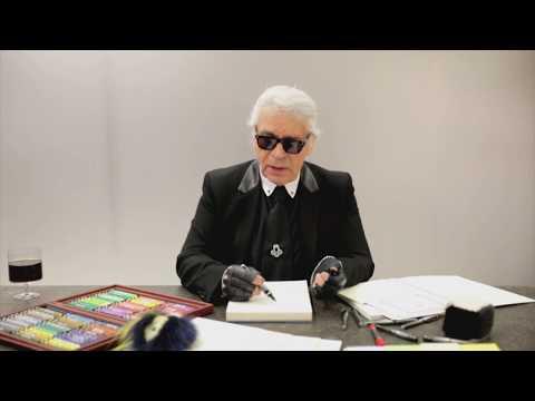 Karl Lagerfeld卡爾.拉格斐回憶他到Fendi的第一天(Fendi提供)