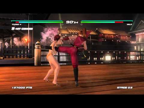DEAD OR ALIVE 5 Last Round - Kasumi/Phase 4