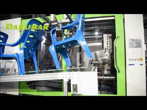 Arm chair injection molding line