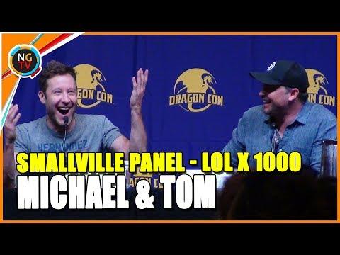 Smallville Panel With Tom Welling & Michael Rosenbaum  So freaking funny