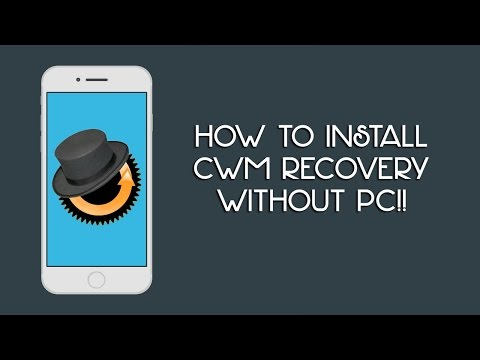 How to Install CWM Recovery on Any Android Devices without PC