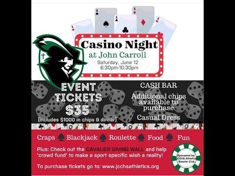 Casino Night Athletics Fundraiser John Carroll Catholic High School