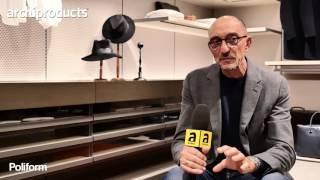 Salone del Mobile.Milano 2017 | POLIFORM - Rodolfo Dordoni ci racconta la cabina armadio Senzafine (it)