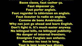Schizophrénie linguistique - de Jean Arceneaux