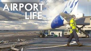 Flight Simulator 2020 - Life At The Airports