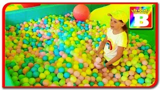 #2 PIT BALL PLAYGROUND Fun Play Place for Kids, play centre ball Play room with balls  Bogdan's Show