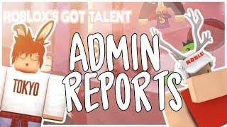 Roblox's Got Talent | ADMIN POV.