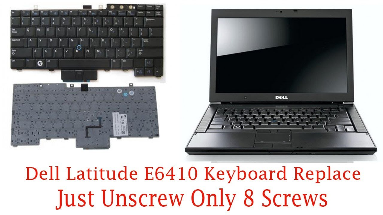 Dell latitude e6410 keyboard replacement video tutorial in Hindi
