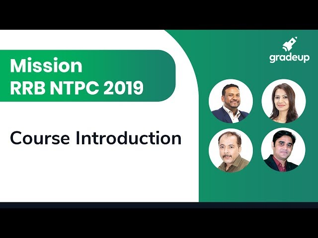 Mission RRB NTPC 2019 || Introduction