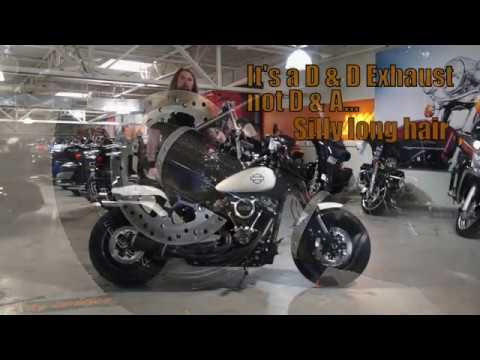 2018 harley davidson fat bob with d d exhaust