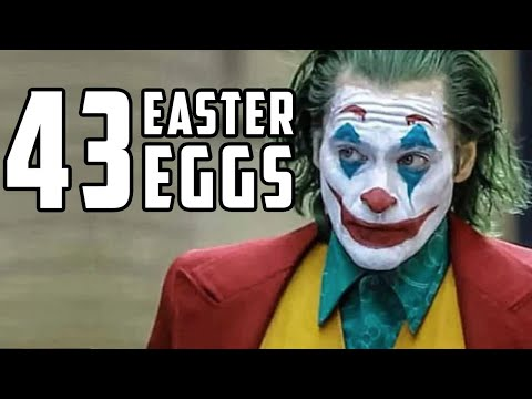 Joker Easter Eggs: The Best Hidden References
