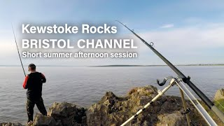 Kewstoke Rocks, Bristol Channel - Short summer afternoon session