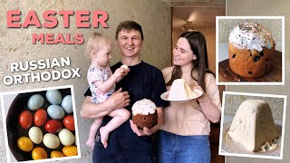 Cooking Easter Meals as Russian Orthodox   Traditional Food in Russia
