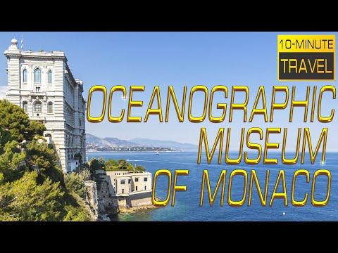 The Oceanographic Museum of 🇲🇨 MONACO | Musée Océanographique de Monaco