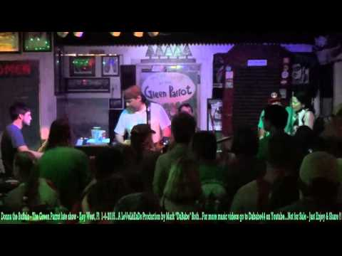 Donna the Buffalo – The Green Parrot late show – Key West, Fl  1- 4- 2015