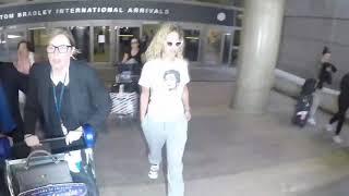 Rita Ora Arrives LAX fom London