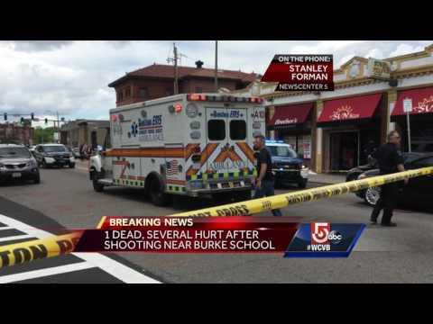 1 killed, several hurt in shooting near Dorchester school