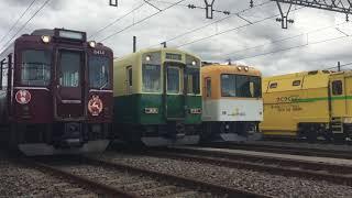 きんてつ鉄道まつり2019in五位堂 車両展示⑵