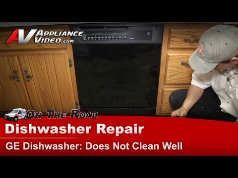 GE Dishwasher Repair - Does Not Clean Well - GSD5900G02BB