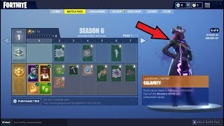 FORTNITE SHOWCASING *NEW* SEASON 6 BATTLE PASS ! FIRST IMPRESSIONS !!