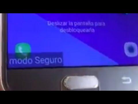 Cómo quitar el modo seguro de mi Samsung Galaxy ( Fácil )