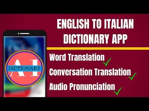 English To Italian Dictionary App | English to Danish Translation App