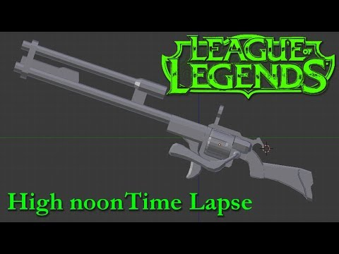 high noon jhin rifle time lapse