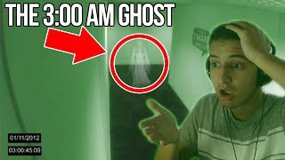Terrifying Footage of a REAL Ghost at 3:00 AM (Do NOT Watch This ALONE)