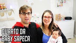 TOUR PELO INCRÍVEL QUARTO DA BABY SAPECA