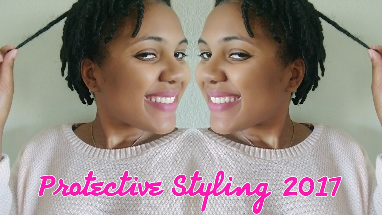 Mini Twist Protective Style Tutorial On 4c Short Medium Length Hair